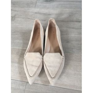 M. Gemi Stellatto pointy toe flat- Size 40.5- Tan
